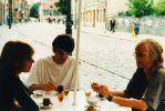 1996 m. pirmasis vizitas Lietuvoje